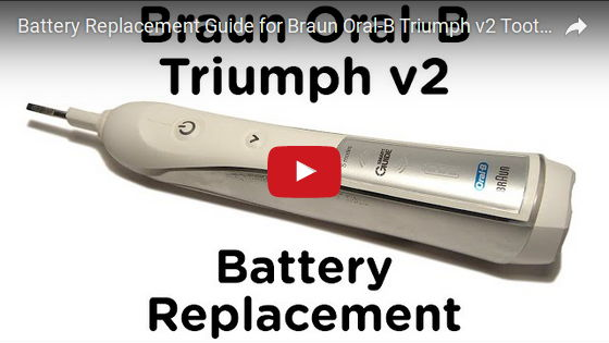 Oral B Triumph Battery Replacement 16