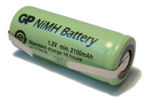 42mm x 17mm NiMH Electric Toothbrush Battery