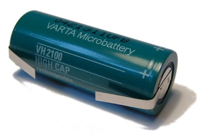 A 42mm x 17mm Top Quality Japanese Made Varta toothbrush battery