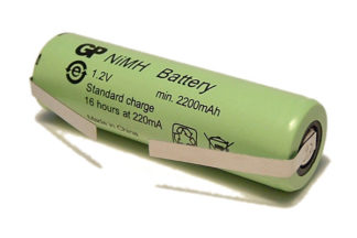 49mm x 14mm Braun Oral-B Vitality Replacement Toothbrush Battery