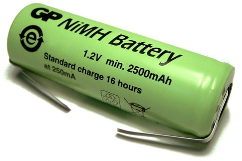 A 49mm x 17mm Standard Electric Toothbrush Battery
