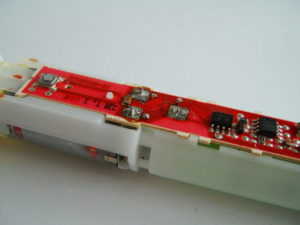 Vitality battery positive terminal desoldered