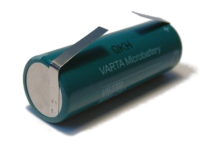 49mm x 17mm Battery with Offset Tags for Braun Oral-B Triumph Toothbrushes