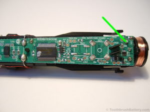 Philips-Sonicare-HX6530-Toothbrush-PCB-battery-neg