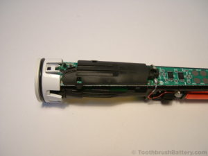 Philips-Sonicare-HX6530-Toothbrush-PCB-cover-on