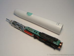 Philips-Sonicare-HX6530-Toothbrush-repair-inner-workings