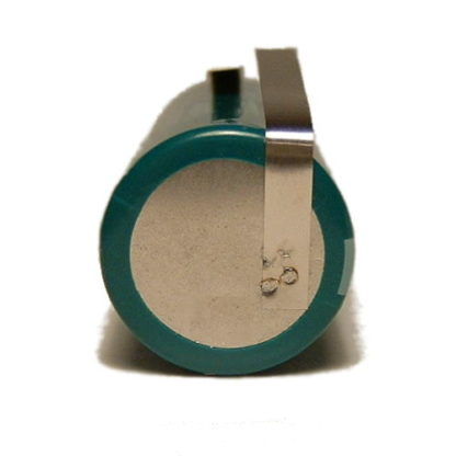 17mm diameter battery with offset tag