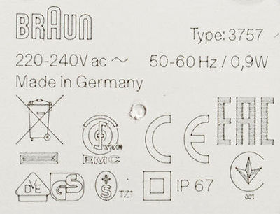 braun-oral-b-type-3757-charger-markings